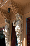 Caryatids With Ornaments
