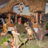 Nativity Scene In Polish Army Field Cathedral