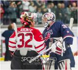 Hockey féminin - Canada 6 - États-Unis 3