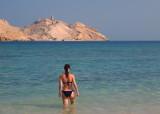 Marianne at Sawadi beach