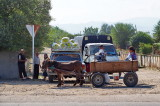 Eselsfuhrwerk an der Hauptstrasse Bolnisi Marneuli.jpg