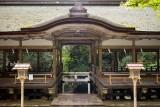 Yuki shrine gate in Kurama M8