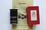 Tubes for Alpa mount lens/camera