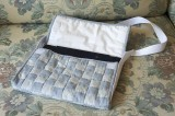 Quilted bag for iPad