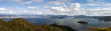 Panoramic view from Misen QS1