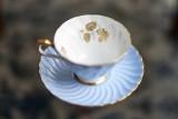 a cup & saucer @f1.4 D800E