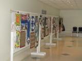 Mini Quilt Auction Display