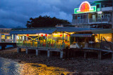 Rainbow Seafood Restaurant at night