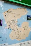 map of Peng Chau Island