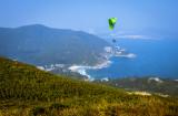 para-glider above Big Wave Bay
