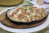 Tepanyaki rubber fish