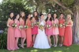 Bride + 9 Bridesmaids