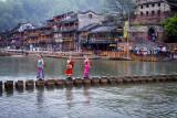 Fenghuang's Famous Foot Bridge