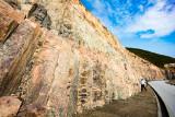 Volcanic Rock Formation inside Geology Park