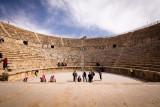 Jerash - Inside the Roman Theater