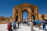 Hadrian's Arch -- the entrance gate to the ruins