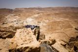 Masada, Romans besieged the fortress