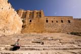 Jerusalem - Southern Steps Where Jesus Once Walked