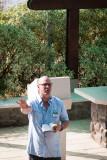 David Arthur Gives Sermon on Mount of Beatitudes