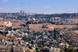 Jerusalem Seen From Hass Promonade