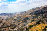 Elevated Town View Kidron Valley Jerusalem