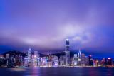 Hong Kong Skyline after sunset