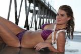 Kay at the beach