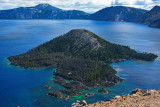 Crater Lake, Oregon - Jan 2007, Sep 2009, Feb 2012 and Oct 2015