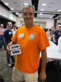 Joe Steinman, winner of the Athearn engines