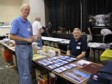 Charlie Duckworth (standing) at the MoPac HS Table