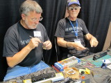 Butch Eyler (left) and Tony Sissons of The Weathering Shop