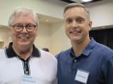 Lonnie Bathurst (left and John Golden (right)
