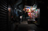 a disappearing district, its night life...