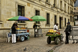 Three Street Vendors in Bogota.JPG