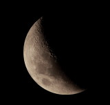 Moon with Sigma 300-800 and Canon 2X TC