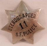 Stenographer SFPD