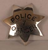 Sterling Emeryville Police badge