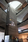 The lobby of the Benz Museum