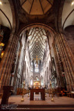 Inside the Freiburg Cathedral