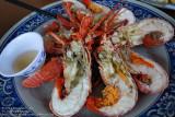 Tasty seafood