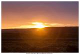 Sunset in Selfoss
