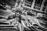 Newspaper Vendor, Madison Avenue _R003258