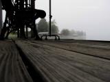Heavy Fog at Sunrise