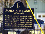 Mr. Lanier was a generous gentleman.