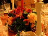 Live Flower Table Decoration.