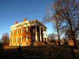 Lanier Mansion at Sunset