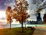 Chicago: a orilla del lago Michigan