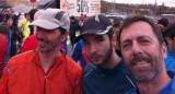 Antes de la carrera (érmos tres...)