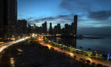 Panamá, saliendo a correr