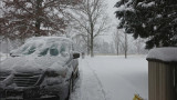 2015 Snowblowing Driveway Timelapse VideoRx100 M3